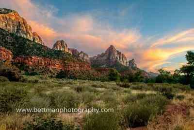 Zion Nationaal park Foto's