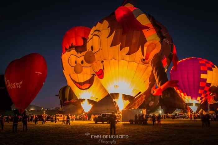 Evening Glow - Albuquerque International Balloon fiesta