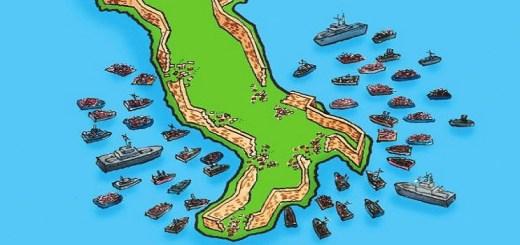 Italië, asielmigratie, heen-en-weer