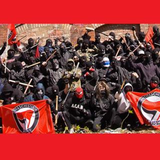 Antifa, aanslag, fascistisch marxisme