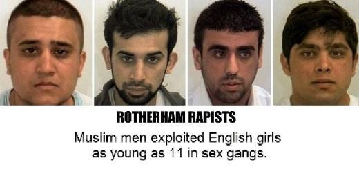 groepsverkrachters, Telford, Rotherham