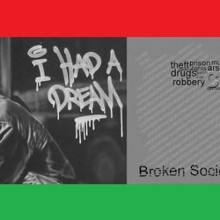 gebroken samenleving
