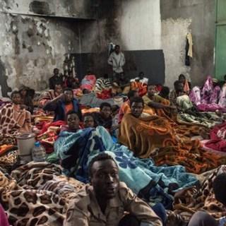 asielmigranten uit Libië