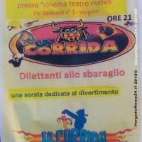 """""""La Corrida"""" di Baramina al Cinema di Vergato, venerdì 21 settembre ore 21,00"""