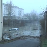 Vergato - L'alluvione arriva di notte