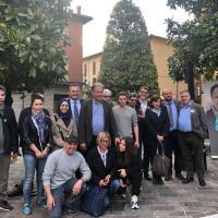 Manifestazione di chiusura della campagna elettorale di Massimo Gnudi a Vergato - Bignami-Evangelisti: Segnaleremo al Corecom
