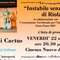 """La compagnia """"Instabile senza la tv"""" di Riola presenta: Fiore di Cactus - Commedia brillante, il 22 novembre a Vergato"""