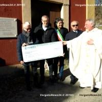 Calvenzano - Emil Banca ricorda la nascita della Cassa Rurale con un contributo per il campanile e una targa