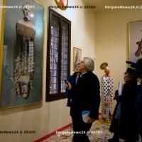 Sgarbi a Vergato - La visita al MuseOntani
