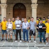 """La società ASD Vergato ottiene il premio """"Grassroots Awards 2020"""" e lo consegna al Comune di Vergato"""