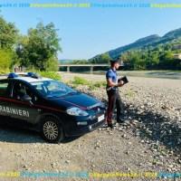 Nudi a Marzabotto - Multati dai Carabinieri