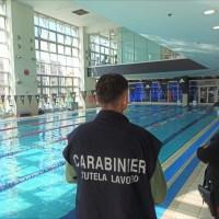 Carabinieri impegnati per il controllo di piscine e palestre su Bologna e Provincia