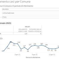 16-1-2021 – Coronavirus in Appennino - 28 nuovi casi: Vergato 8, Castel d'Aiano e Monzuno 5