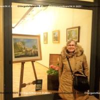 """Paola Marchi - Il video della mostra """"40 anni di pittura"""" con l'intervento di Catia Aliberti"""