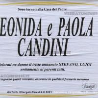 A 100 anni e a pochi giorni di distanza Leonida raggiunge la figlia Paola Candini