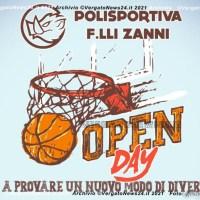 """Polisportiva F.lli Zanni """"Open Day"""" - Vieni a provare!"""