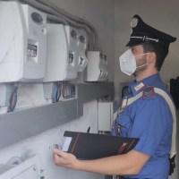 I Carabinieri di Vergato arrestano una coppia per furto di energia elettrica