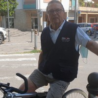 """Il sig. Zereni in bici a 91 anni? Graziano Uliani gli """"ruba"""" il segreto"""