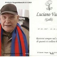 Luciano Galli Valisi - Una laurea ad honorem post mortem... e applausi per l'ultimo saluto