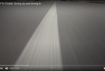 Giving Up and Giving In