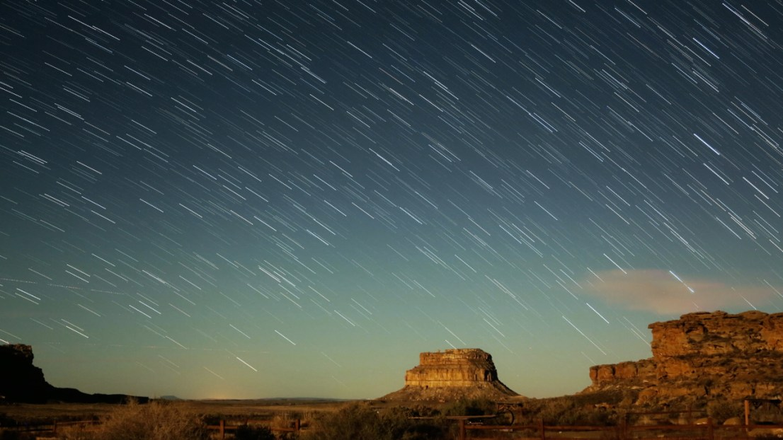 Fajada Butte, Chaco Culture Nat'l Historical Park, New Mexico by Verglas Media