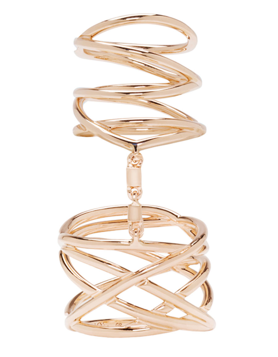 REPOSSI Rose Gold Twin Ring
