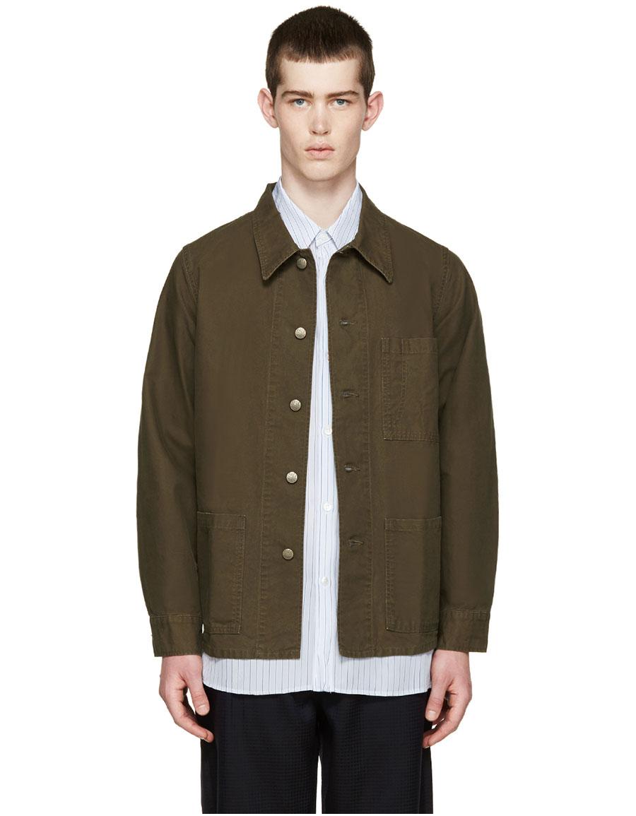 VISVIM Green Military Jacket