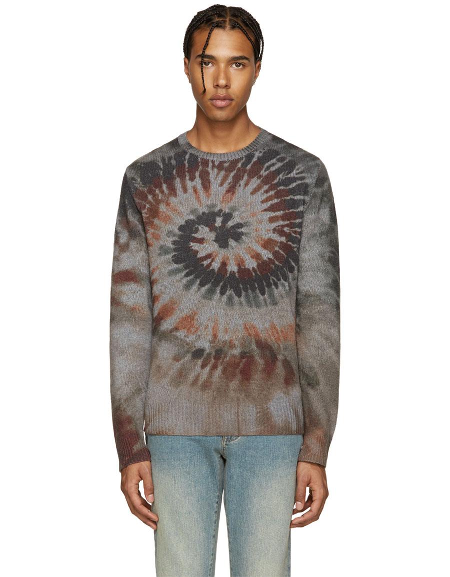 VALENTINO Multicolor Tie Dye Sweater