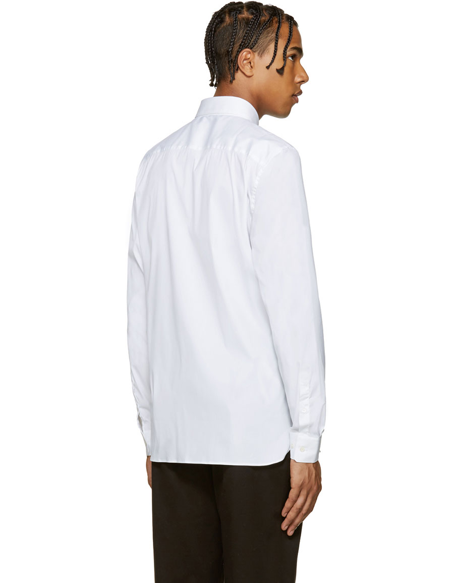 BURBERRY White Seaford Shirt