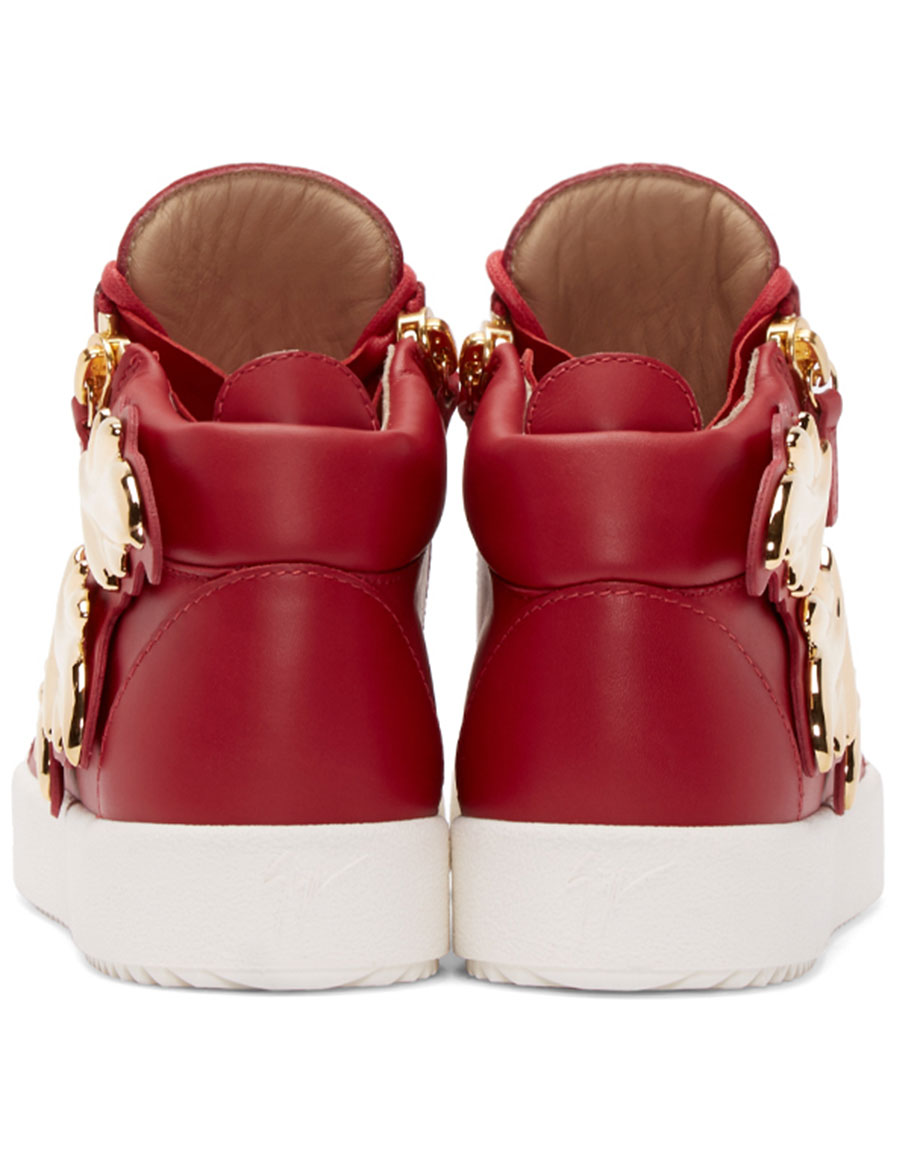 GIUSEPPE ZANOTTI Red Wings London High Top Sneakers