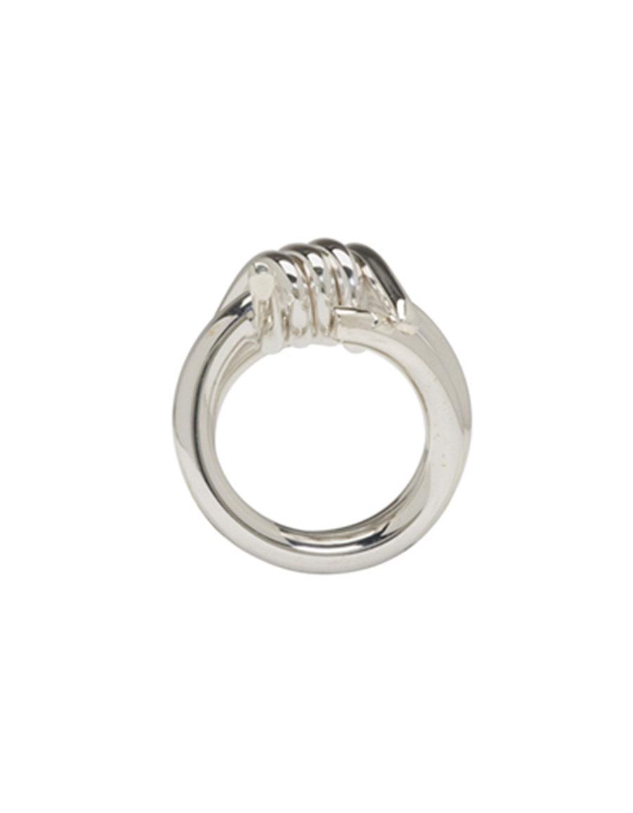 AMBUSH Silver SSS Barbwire 2 Ring