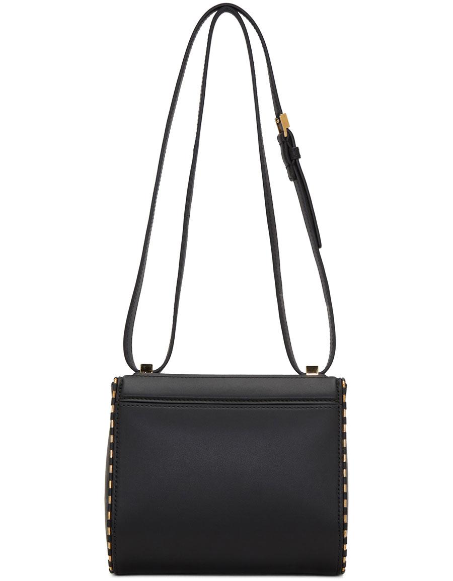 GIVENCHY Black Mini Pandora Box Bag