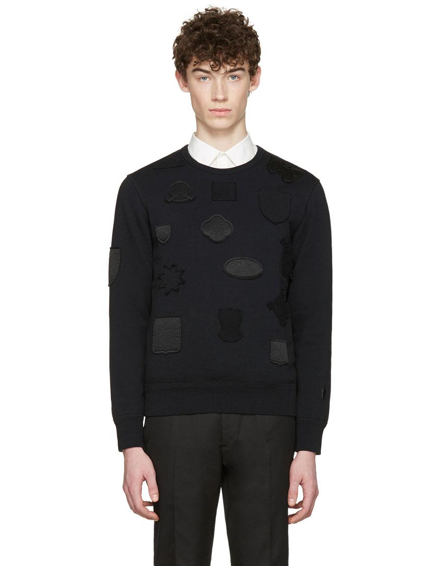 ALEXANDER MCQUEEN Black Badges Pullover