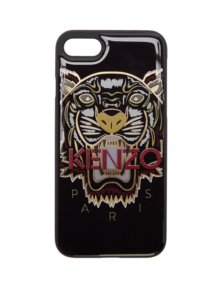 f0f334a4 KENZO Black & Gold Tiger iPhone 7 Case · VERGLE