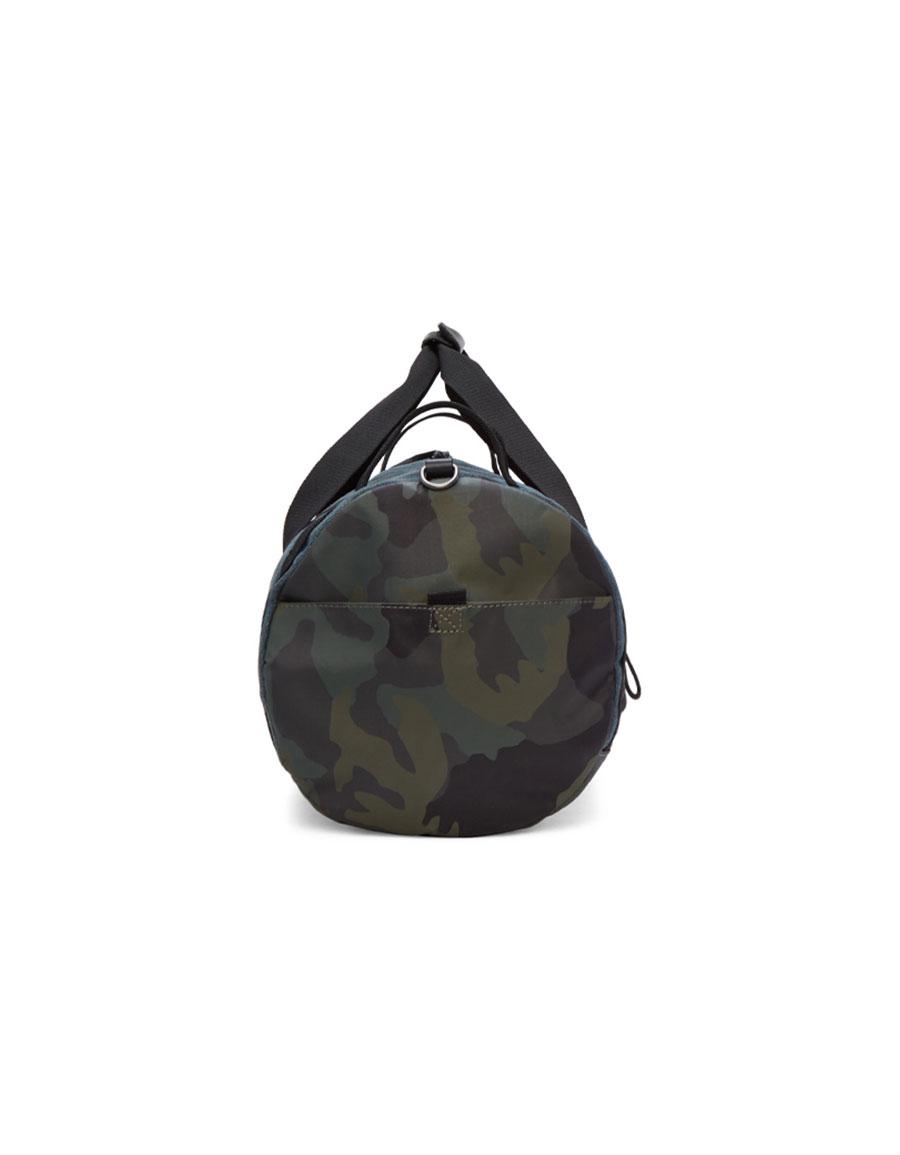 DIESEL Blue & Camo D Running Duffle Bag