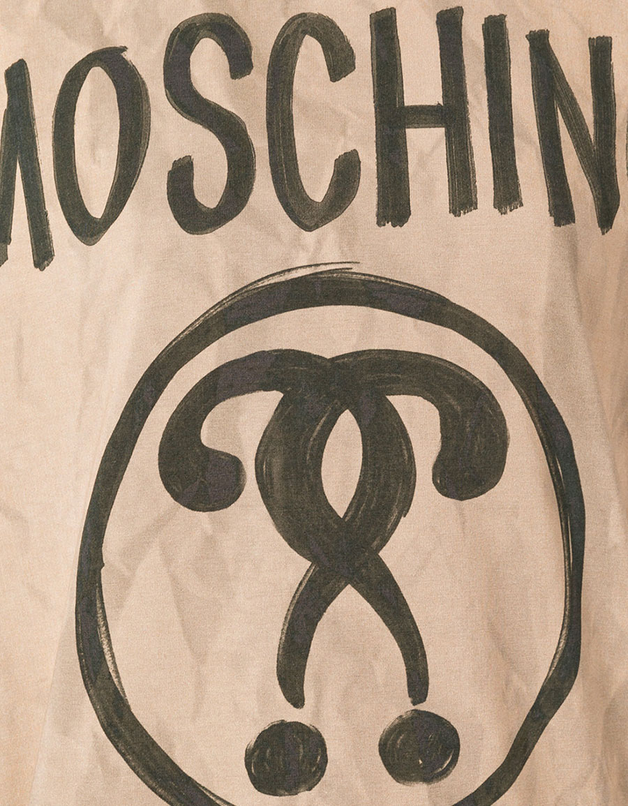MOSCHINO Bag handle T shirt