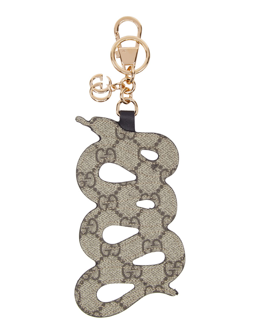 GUCCI Red Snake Keychain