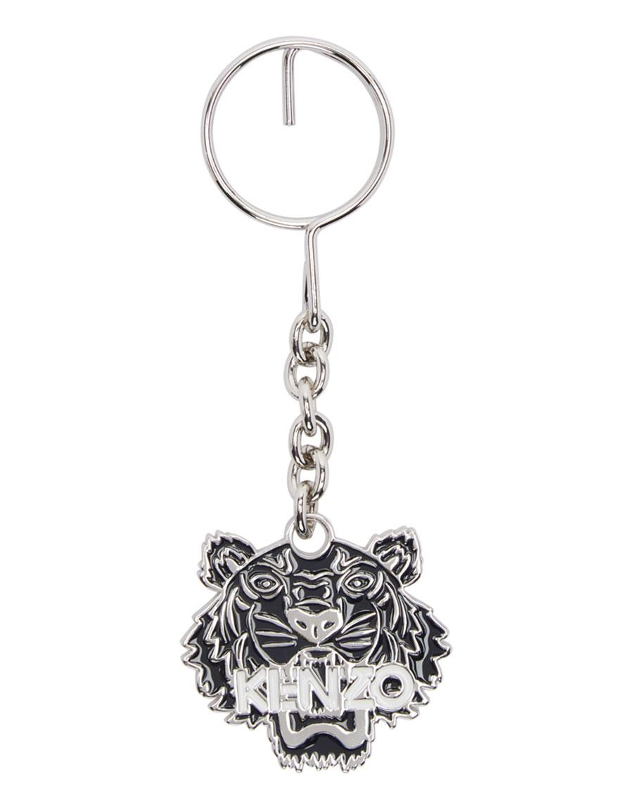 KENZO Black Tiger Keychain