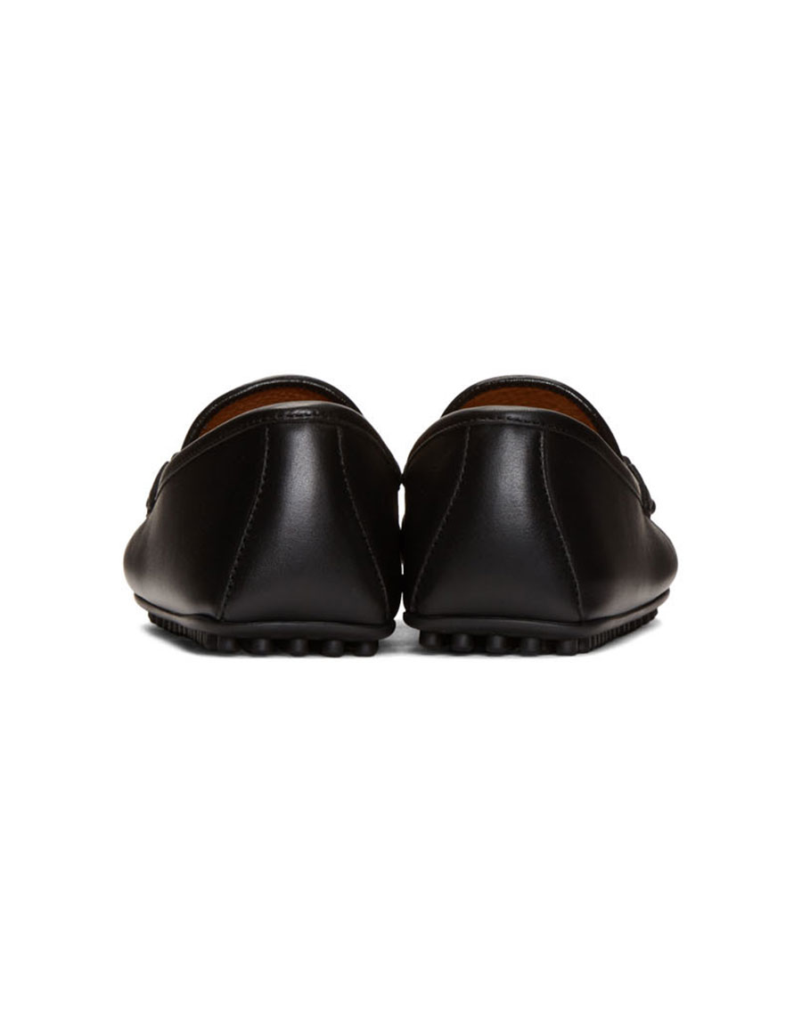 02ad4241f GUCCI Black 'Kanye' Driving Loafers · VERGLE