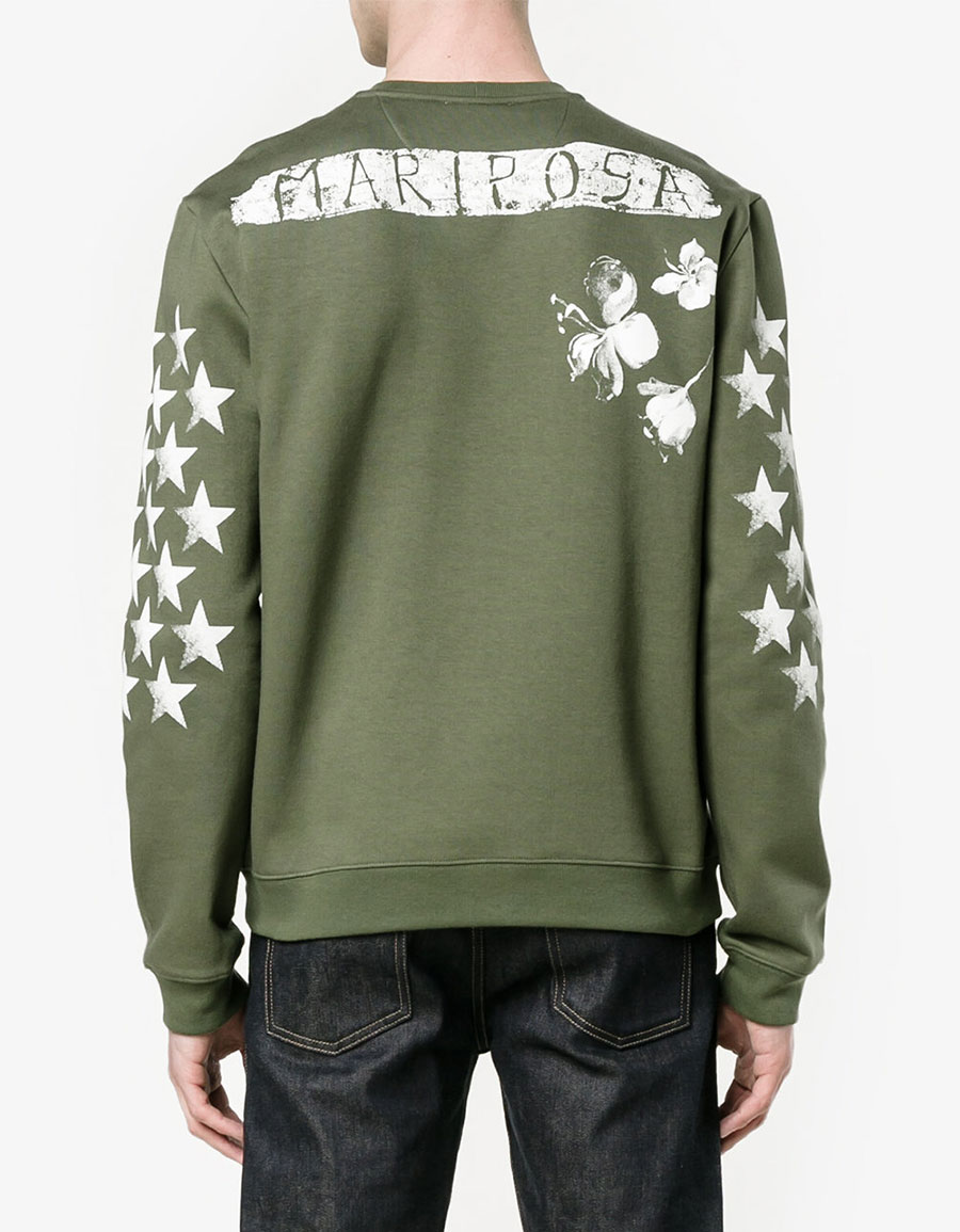 VALENTINO Star printed sweatshirt