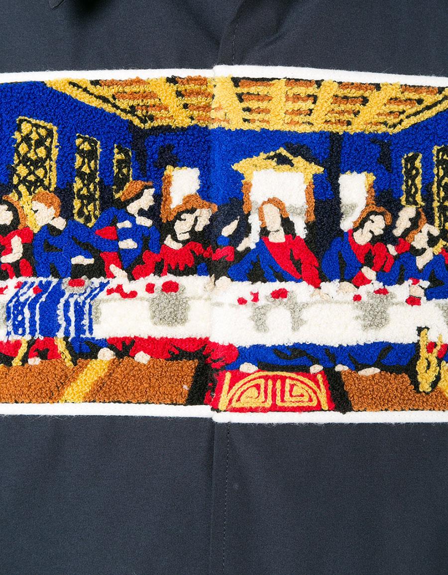 FACETASM The Last Supper shirt jacket