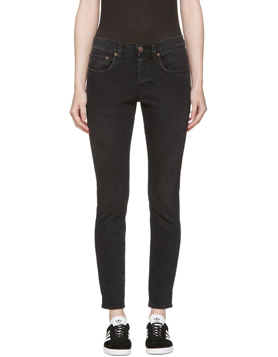 6397 Black Washed Boy Jeans