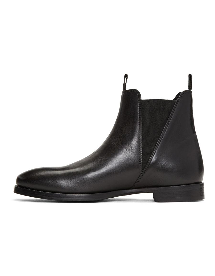 ACNE STUDIOS Black Zack Chelsea Boots