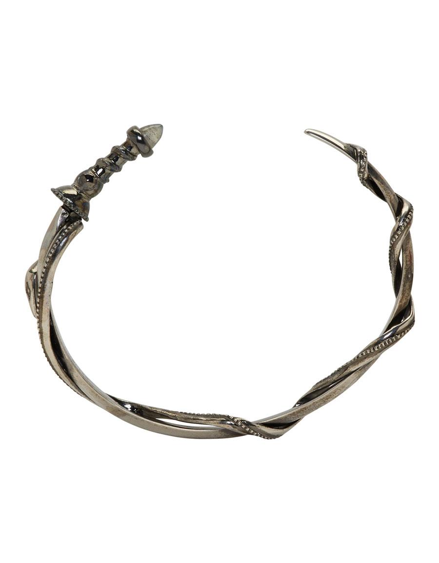 ALEXANDER MCQUEEN Silver Sword & Snake Bracelet