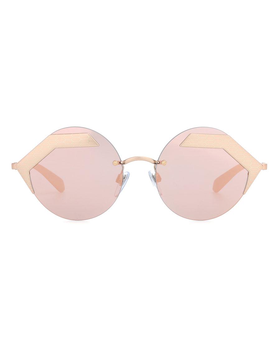 3163f7c84b BVLGARI EYEWEAR Serpenteyes round sunglasses · VERGLE