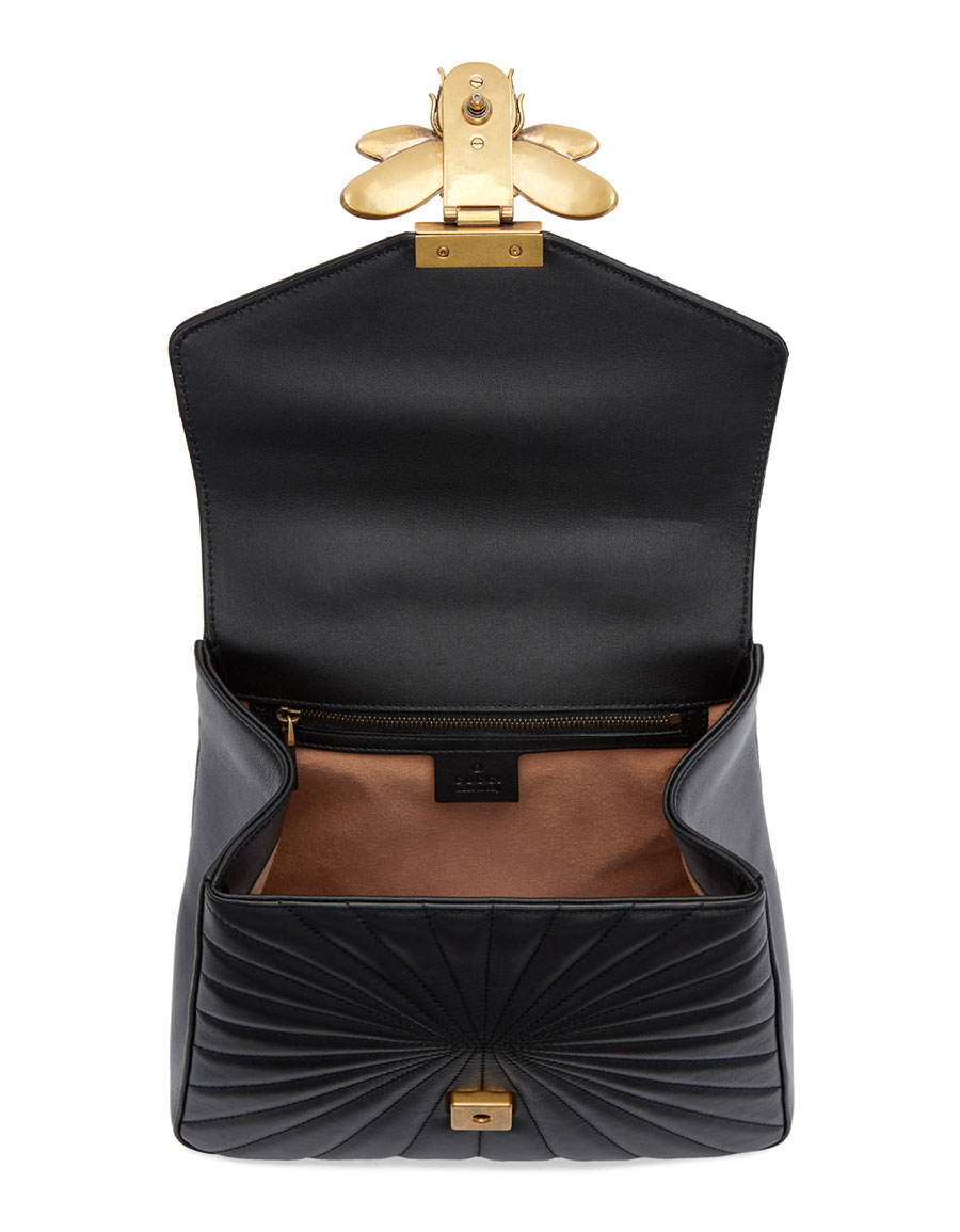 GUCCI Black Queen Margaret Quilted Backpack · VERGLE f4069140dfd5d
