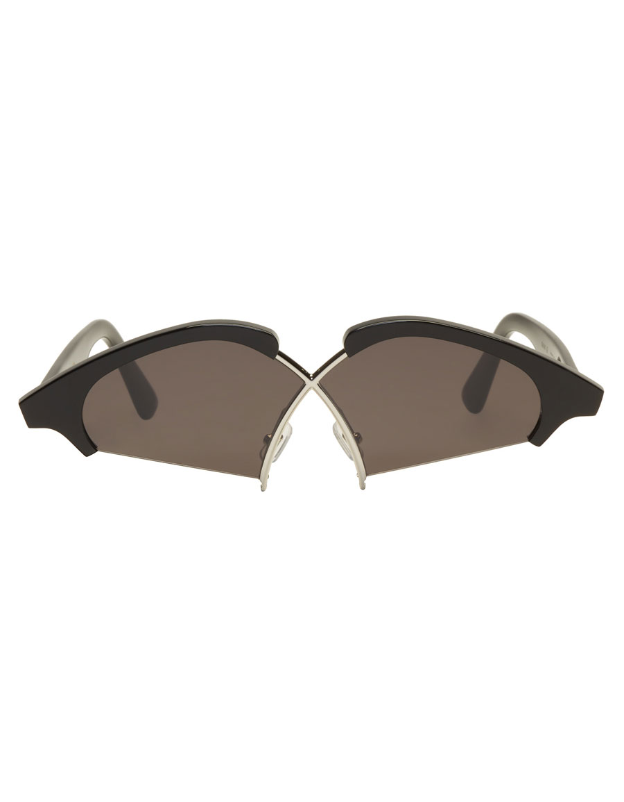 9629457420 GENTLE MONSTER Black Hood By Air Edition Nunty Sunglasses