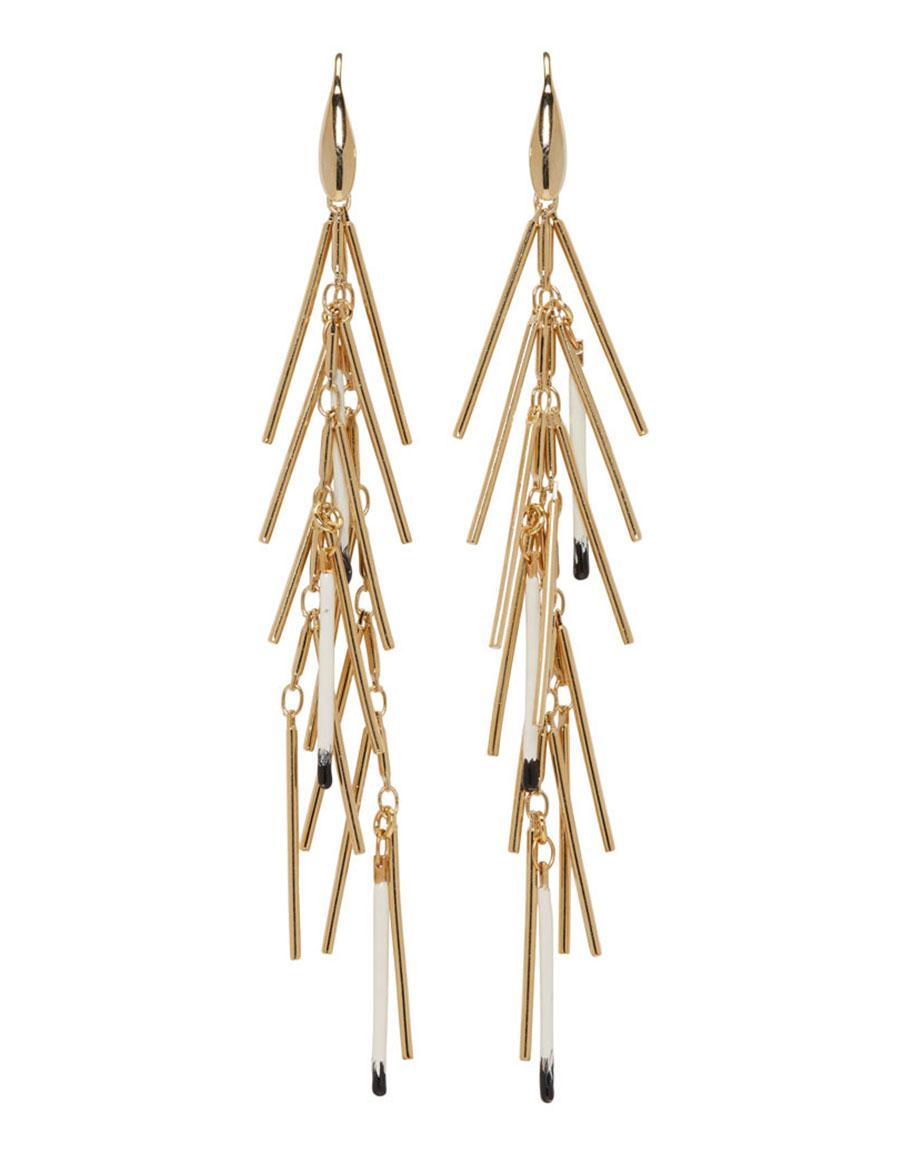 181cb18994 ISABEL MARANT Gold New Good Swing Earrings · VERGLE