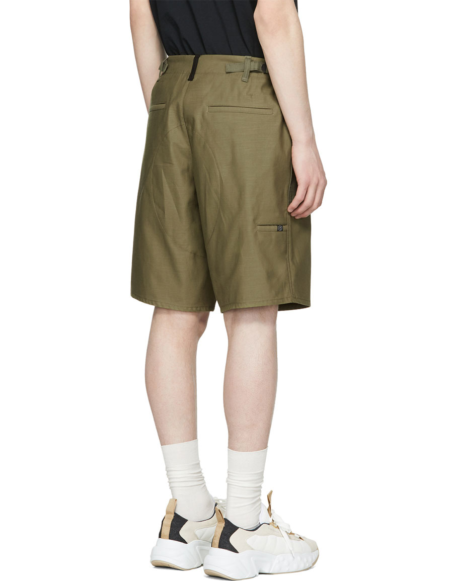 RAG & BONE Green Field Shorts