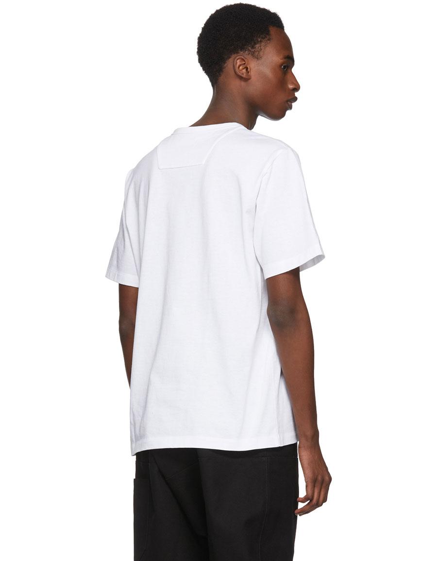 JUUN.J White 'Be Curious Not Judgemental' T Shirt